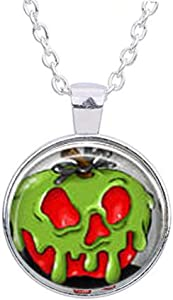 Evil Queen & Her Poison Apple Necklace