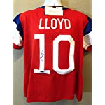 86dc9a862 Carli Lloyd Team USA Soccer Signed Autograph Custom Jersey Tristar  Authentic.