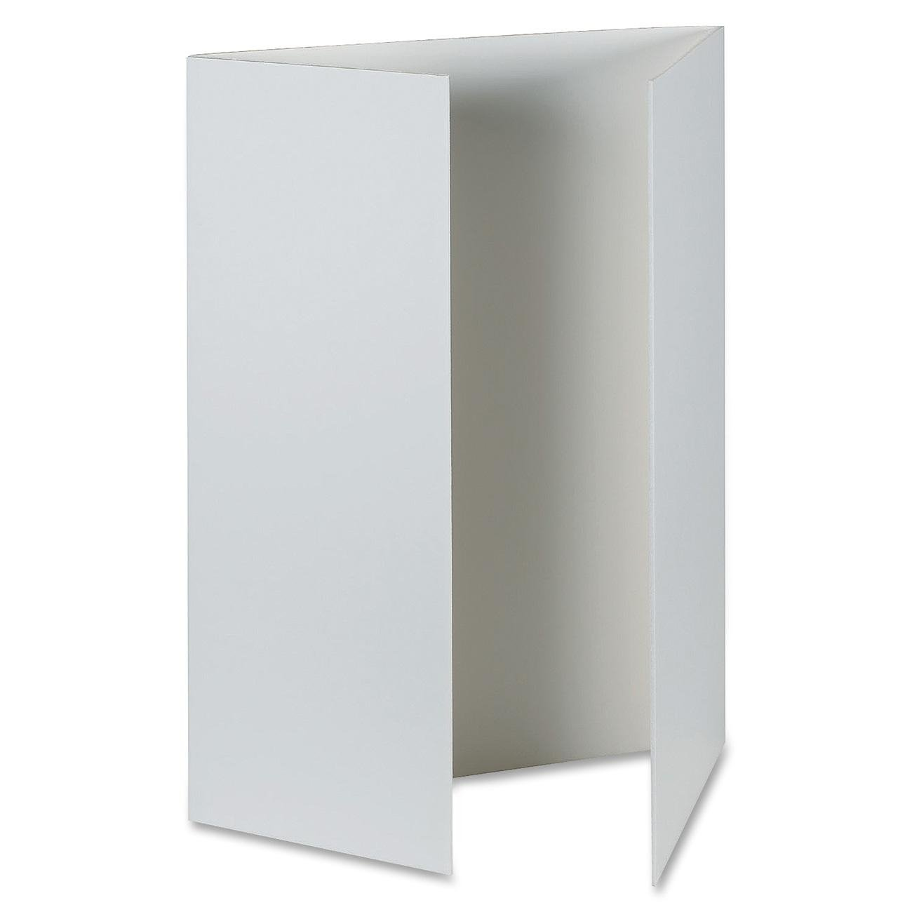 Pacon Corporation Presentation Foam Board, Tri-Fold, 48X36, 6/Ct, White 48X36 PAC38636