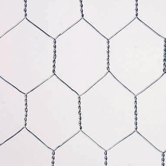 Catral 55020018 - Malla Galvanizada Hexagonal, 100x300x4 cm, color ...