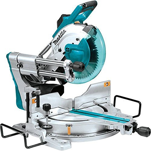Makita LS1019L 10 inch Dual-Bevel Sliding Compound Miter Saw with Laser