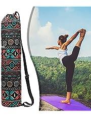 qishengshengwukeji Funda Esterilla Yoga Bolsa Yoga Bolsa de Cubierta de Estera de Yoga Bolsas de Yoga para Mujeres Estera de Yoga con Bolsa de Transporte
