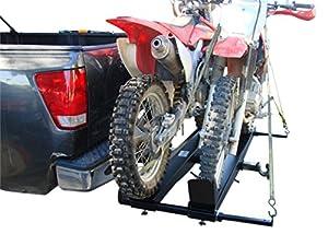 Amazon Com 1000 Lb Steel Double Dirt Bike Hitch Mount