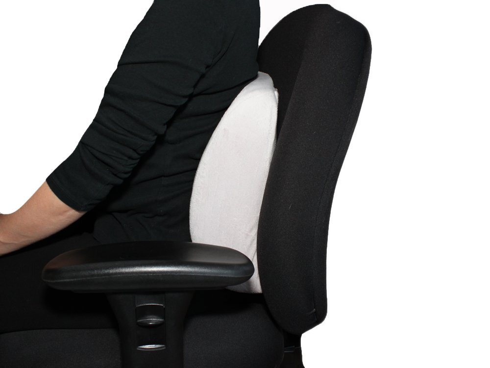 pillow chair. amazon.com: lumbar support pillow ✮ everrelief® super comfy memory foam take anywhere back cushion for the car, office, or any chair that needs