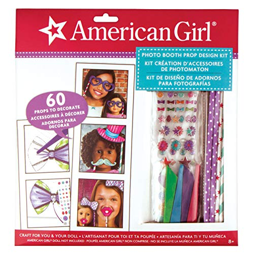 American Girl Photo Booth Prop Design Kit (American Doll Party Supplies)