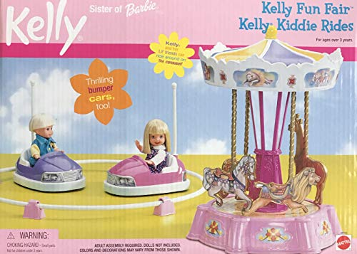 Mattel Kelly Fun Fair Kelly Kiddie Rides Playset