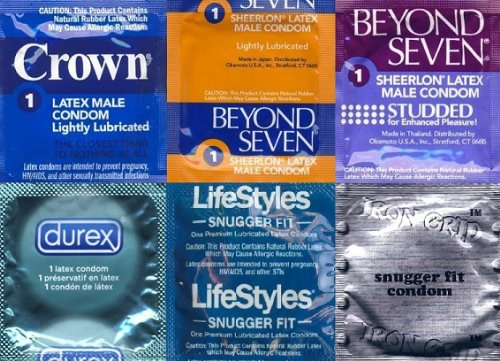 200 Small Condoms Variety Pack + Free Lubricant – Bulgeinbulk's Collection of 6 Different Types of Snugger Fit Condom, Health Care Stuffs