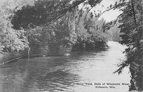 Kilbourn Wisconsin River Dells Navy Yard Antique Postcard - Wisconsin Dells In Stores