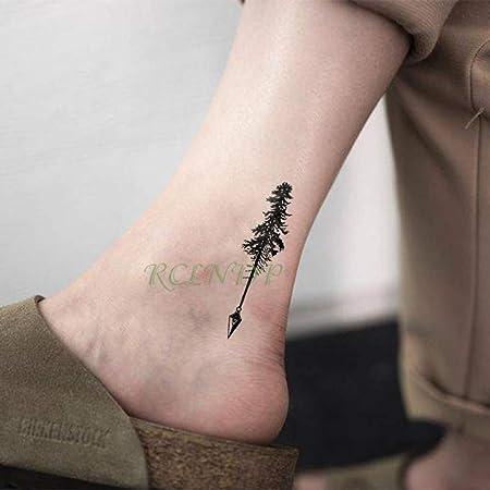 tzxdbh 2 Piezas Impermeable Tatuaje Pegatina árbol de Coco muñeca ...