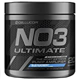 Cellucor NO3 Ultimate Nitric Oxide Supplement, Premier Nitric Oxide Booster & Pump Amplifier for Muscle Growth, Blue Razz, 20 Servings