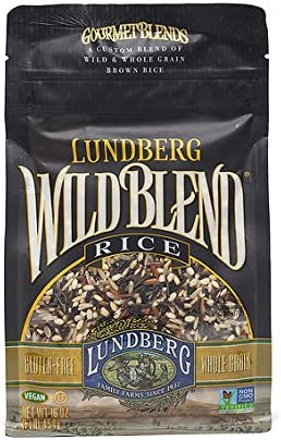 Amazon Com Lundberg Wild Blend Rice 16oz Pack Of One Health Personal Care