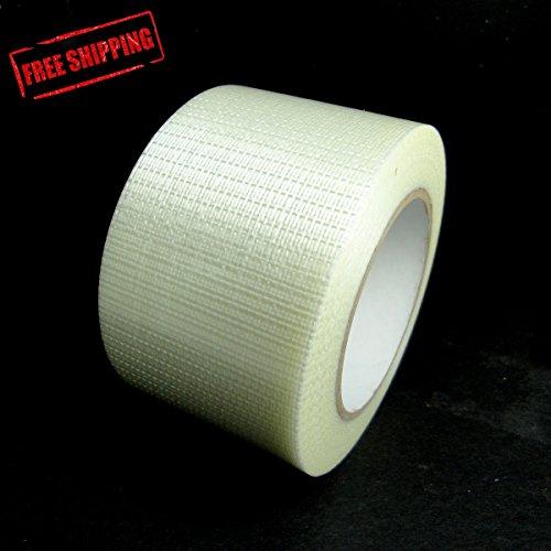 "3"" (76mm) x 60 yds Bi-Directional Filament Tape (10935) [CASE]"