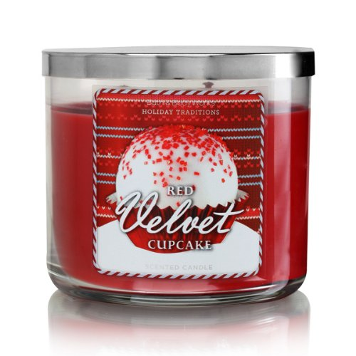Bath Body Works Red Velvet Cupcake 3-Wick Scented Candle