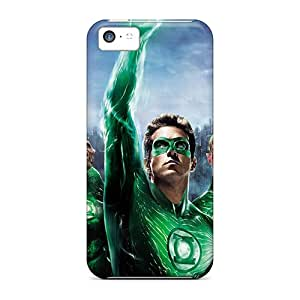 AlexandraWiebe Design High Quality 2011 Green Lantern 3d Covers Cases With Excellent Style For Iphone 5c