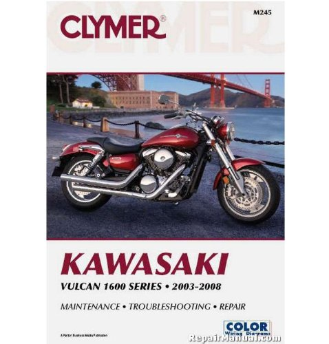 pair Manual for Kawasaki VN1600 Classic/Mean Streak Nomad 06-09 (ZZ 4201-0216) ()