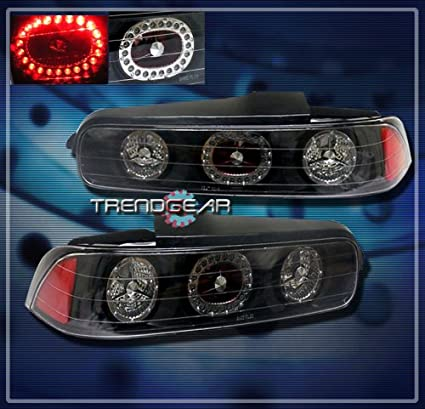 Amazoncom Acura Integra Dr Led Tail Lights JDM Black LED - 1999 acura integra tail lights