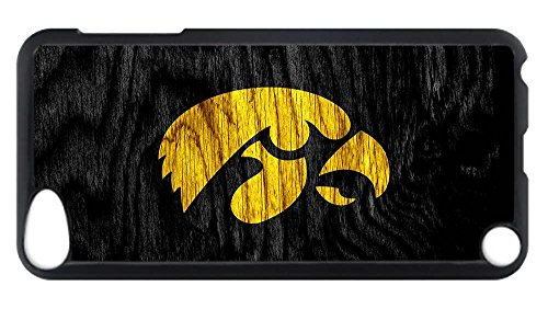 Price comparison product image iPod Touch 5 Case, Custom Design Iowa Hawkeyes Hard Plastic PC Blcak Case Bumper Cover for iPod Touch 5