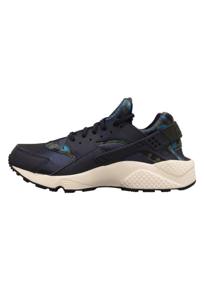 huge discount 30a06 d93c4 Galleon - Nike Womens Air Huarache Run Print Running Trainers 725076  Sneakers Shoes (US 11, Obsidian Black Sail 400)