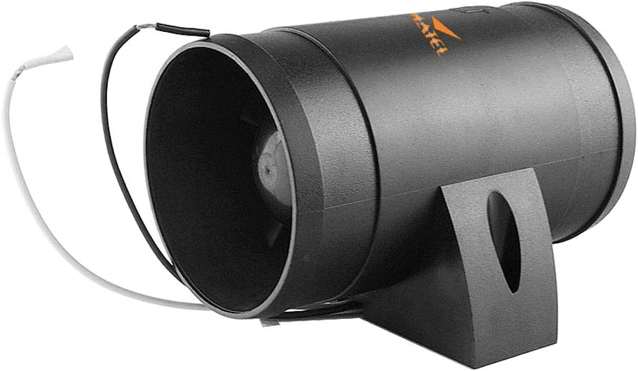 12V 3/'/' Bilgengebläse Inline Gebläse Bilgenluftgebläse Ventilator mit ABS