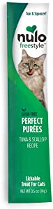 Nulo, FreeStyle Perfect Puree Tuna & Scallop Lickable Cat Treat.5 oz