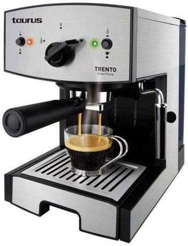 Espresso – Cafetera expresso Trento 1050 W – 15 Bars: Amazon.es: Hogar