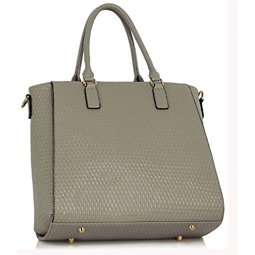 TrendStar - Bolsa Mujer B - Grey Tote Bag