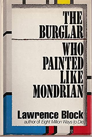 book cover of The Burglar Who Painted like Mondrian