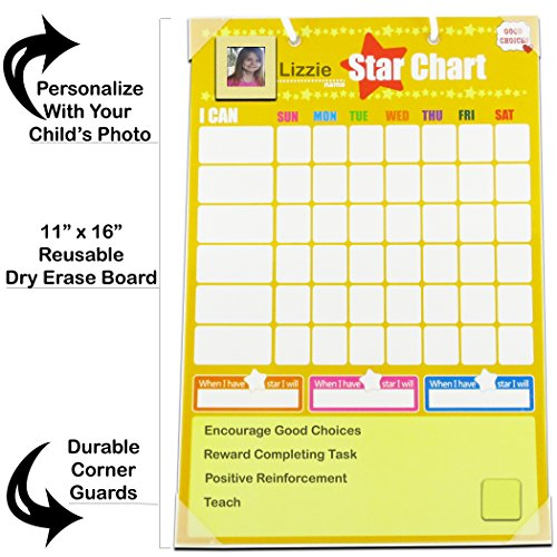 Chore Charts Behavior Reward for Kids | Magnetic | Ideal for Rewarding Positive Behavior Training Toddlers and Children Autism by Good Choices