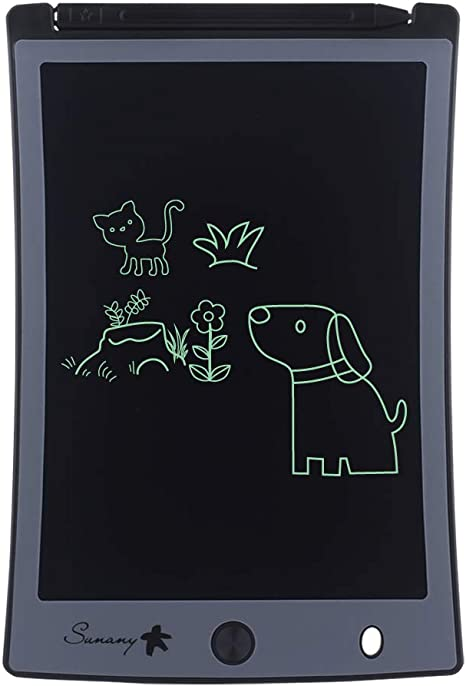 8.5-Inch Writing Board Doodle Board Samoii LCD Writing Tablet Blue Electronic Doodle Pads Drawing Board Christmas New Years Gift for Kids and Adults at Home,School and Office