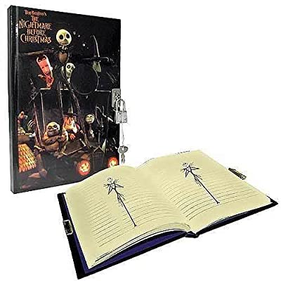 Neca Nightmare Before Christmas Diary with Lock: Toys & Games