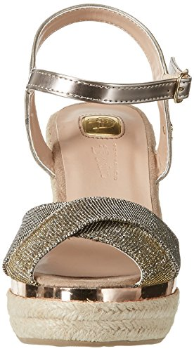 TOM TAILOR 2795302 - Tira de tobillo Mujer Gold (Bronze)