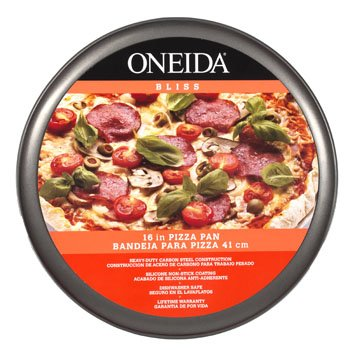 Pizza Pan Case (PIZZA TRAY 16IN CARBON STEEL NON-STICK ONEIDA BLISS, Case Pack of 6)