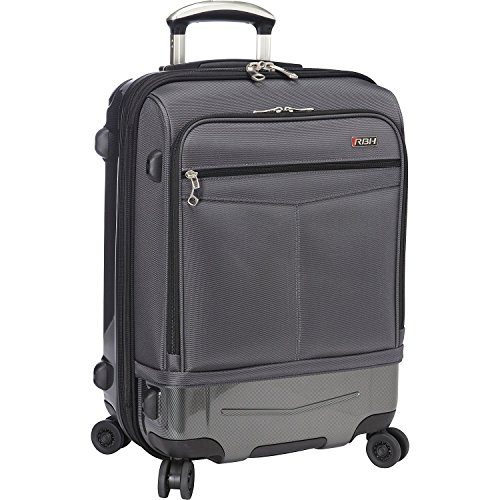 Ricardo Beverly Hills Luggage Rodeo Drive 21-Inch 4-Wheel Expandable Wheelaboard (Charcoal)