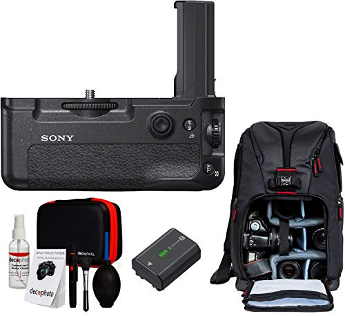 Amazon.com : Sony VGC3EM Vertical Grip for a7 III, a7R III, a9 with Sling Camera Backpack Bundle : Camera & Photo