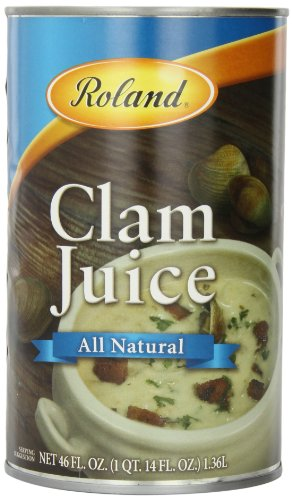 Roland Clam Juice, 46 Ounce (Pack of 2)