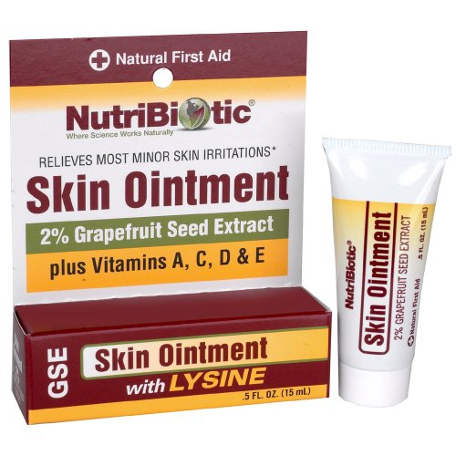 NutriBiotic peau pommade, 0,5 once