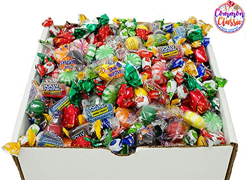 Bulk Hard Candy (Hard Candy Assorted Fruit Bulk Mix - Jolly Ranchers, Starlight Fruit Mints, Colombian Mini Fruit Filled Drops, and Jaw Busters - 2.5)