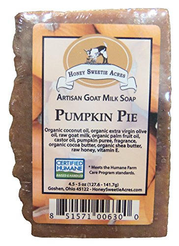 Premium Handcrafted Artisan Goat Milk Soap - Feels So Wonderful on your skin that 4 out of 5 customers come back! (Pumpkin Pie)