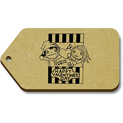 Tag Azeeda tg00000396 34mm bagaglio Judy' And Punch X 'valentines 10 66mm regalo 68nC6qfp