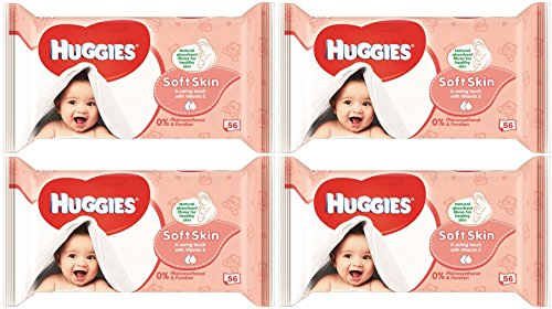 Huggies Wipes Vitamin Count Total