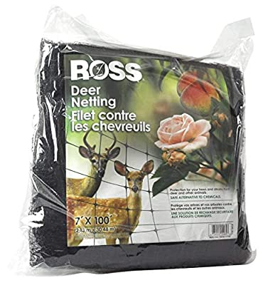 Ross Deer Netting and Fencing Reusable (Protection for Trees and Shrubs from Animals) 7 feet x 100 feet