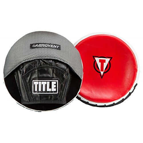 TITLE Strategic Mini-Disc Tactical Mitts, Black/Grey/Red