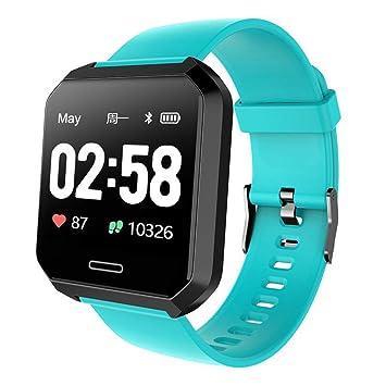 WWVAVA Pantalla a Color Smartwatch Hombres Mujeres Moda ...