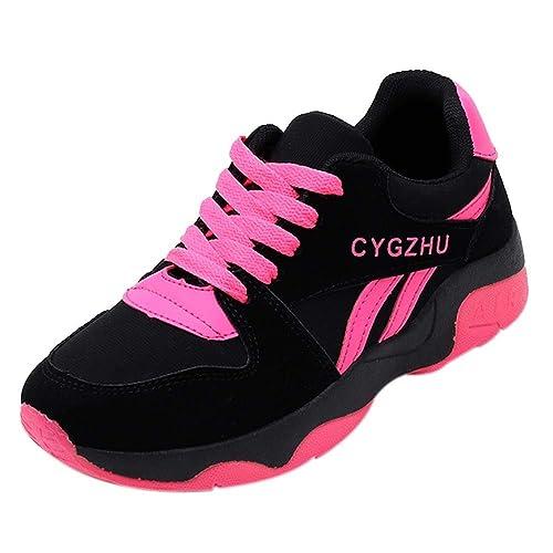 70fc764c4bb Beladla La Mujer Tacones Plataforma Zapatos Casuales Mujeres Salvajes De  Ocio Shoes De CuñA Ocasionales De La Moda con Malla Transpirable Ocio  Zapatillas De ...