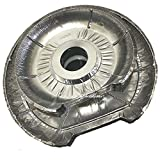 Gas Or Electric Range Stove Disposable Round Foil Burner Liners Pack Of 22-11 Large, 11 Small.-Aluminum tin foil Cover replacement part Bib