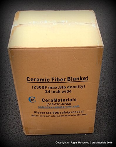 Ceramic Fiber Insulation 8 2300f 1 Quot X24 Quot X25 For Wood