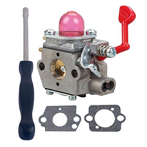 Savior Carburetor with Adjustment Tool Kit Screwdriver for 545081831 Poulan BVM200VS PPB430VS VS2000BV Gas Blower by Savior