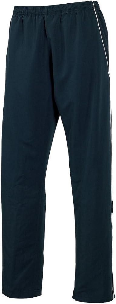 Tombo Teamsport Kids Teamwear Open Hem Lined Training Bottoms Navy//Navy//White Piping S
