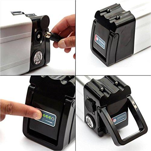 SunB SF S 48v 11.6AH E Bike Battery with 18650 Panasonic Batteries+ BMS + Charger