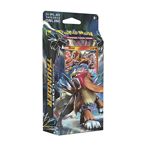 Pokemon TCG: Sun & Moon 8 Lost Thunder Theme Deck Entei